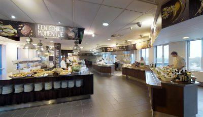 """Bezoek VIRTUEEL het ALBRON """"FLAVORS"""" restaurant bij Ahold Delhaize 3D Model"""