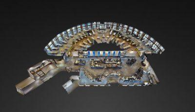 Bezoek VIRTUEEL het AHOLD DELHAIZE Bedrijfs-Restaurant 3D Model