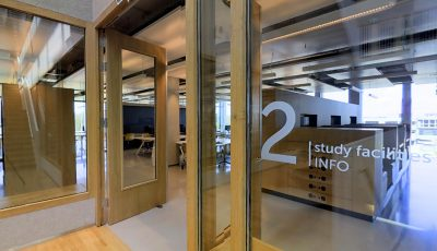 Discover VIRTUAL the STUDY FACILITIES at the Polak Building @ Erasmus University Rotterdam 3D Model