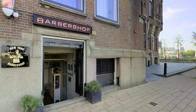 Bezoek VIRTUEEL de NewYork Barbershop @ Hotel NewYork Rotterdam 3D Model