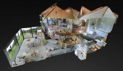 Bezoek VIRTUEEL een foto- en filmlocatie van GRACE LOCATIONS 3D Model
