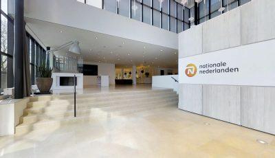 Ontdek VIRTUEEL je nieuwe werkplek bij de NN GROUP in Amsterdam 3D Model